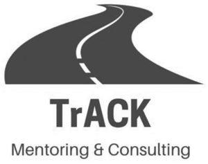 TrACK Mentoring and Coaching Logo Mono