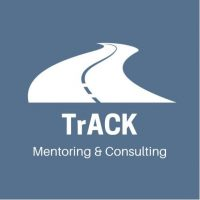 TrACK Mentoring and Coaching logo Blue